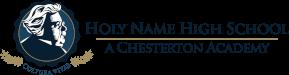 Holy Name High School – A Chesterton Academy Logo